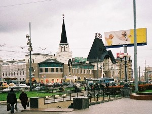 The Yaroslavl station