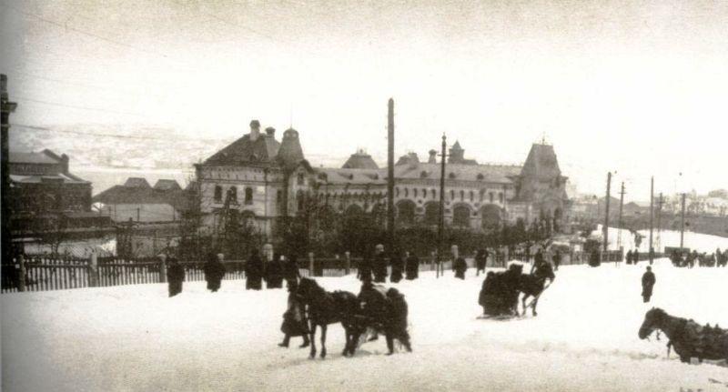 Перестроенный вокзал