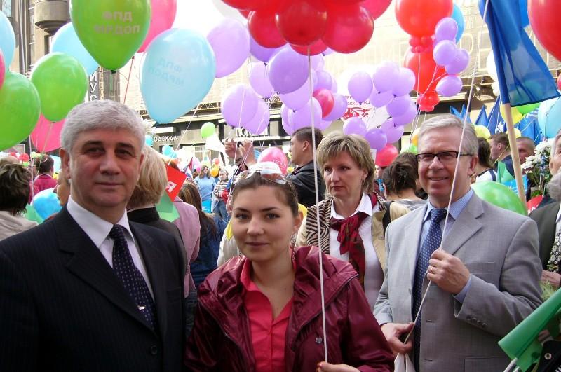 Зайденберг Виктор Алексеевич заместитель Председателя Теркома Московской региональной дирекции