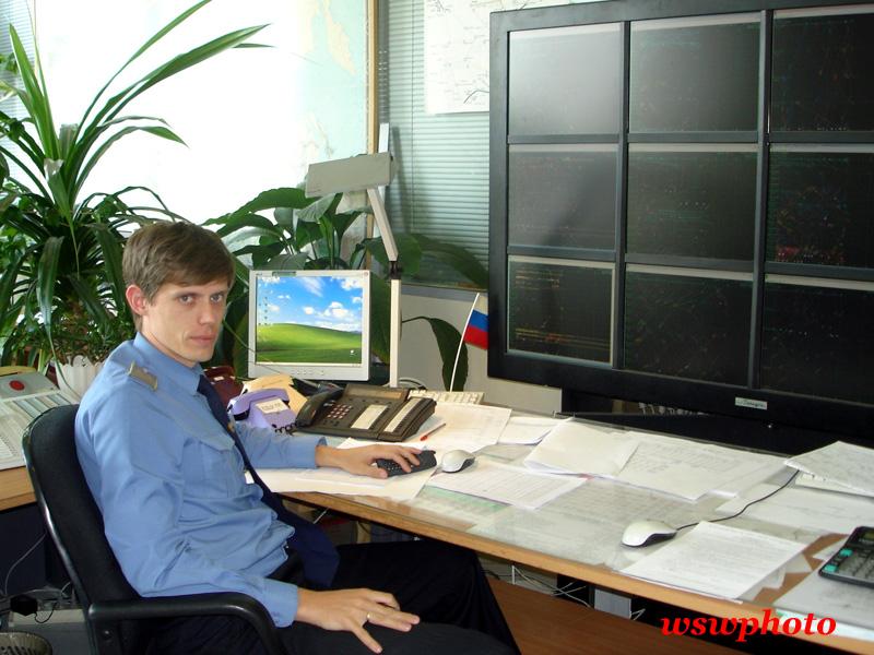 Старший дорожный диспетчер Холичев Дмитрий