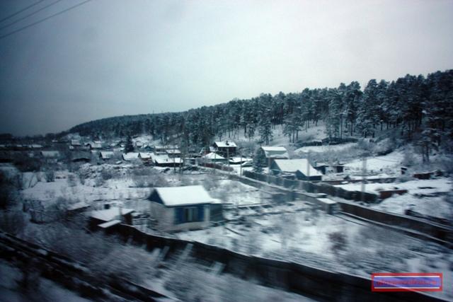 Снег в Иркутской области