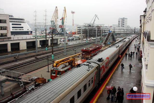134-й поезд на станции Владивосток