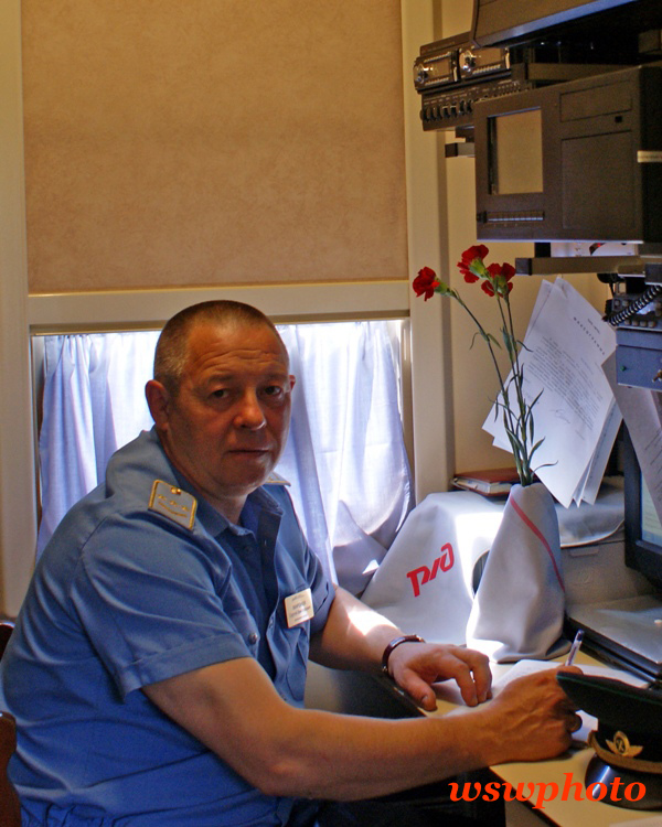 ЛНП Миронов Сергей - начальник поезда «РОССИЯ»