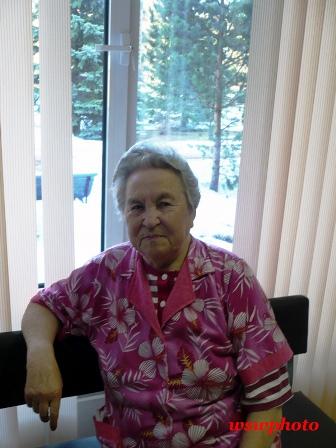 Ветеран ВОВ Нина Баронина в Московском областном госпитале ветеранов войны