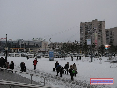 привокзальная площадь Хабаровска
