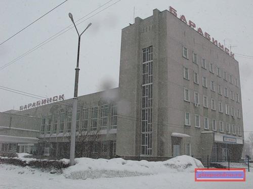 вокзал станции Барабинск