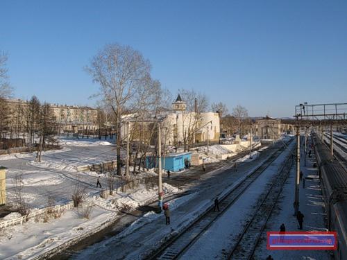 на станции Ерофей Павлович
