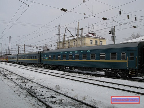 фирменный поезд «Енисей»