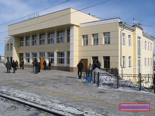 вокзал станции Могоча