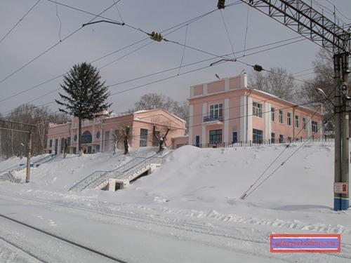 вокзал станции Облучье