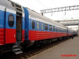 Новые вагоны поезда «РОССИЯ»