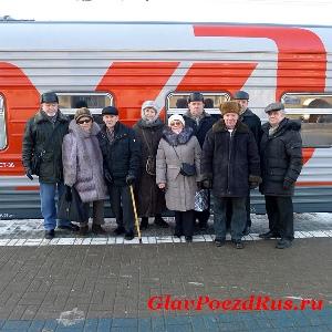 Ветераны, принимавшие участие к подготовке и эксплуатации поезда №20/19