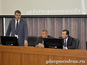 Выступление начальника Московского филиала АО «ФПК» Евгения Бухвалова